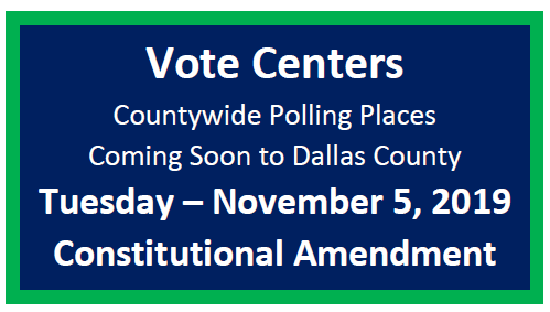 Dallas County Vote Centers